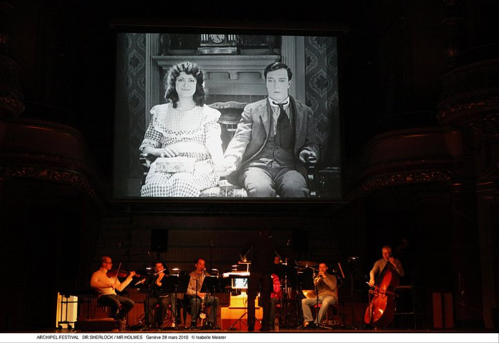 ciné-concert Sherlock Jr, Victoria Hall