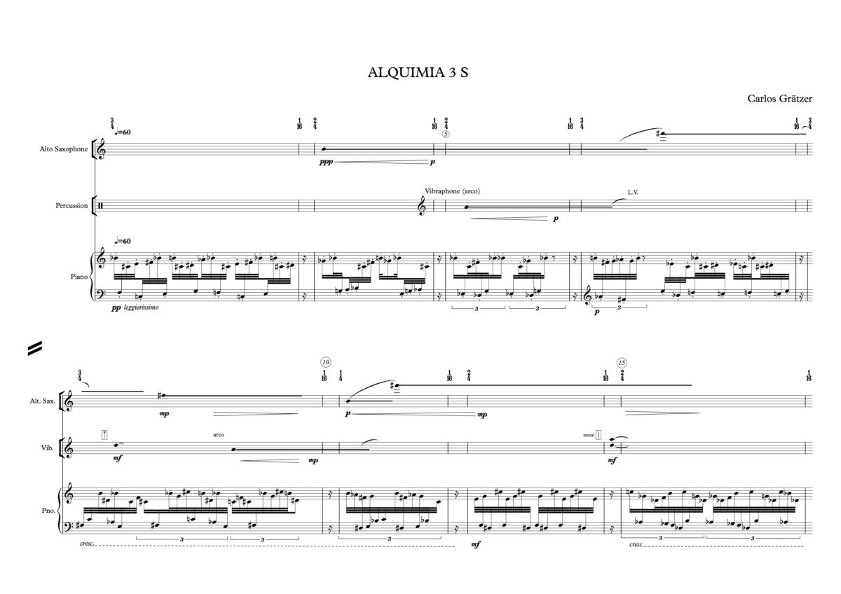 Alquimia 3 S - P1