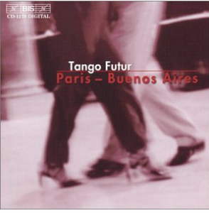 Transmutango de Carlos Grätzer. Saxophone alto et Marimba, Claude Delangle et Jean Geoffroy. BIS-CD-1170